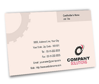 Online Business Card printing Industrial Training