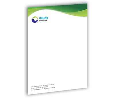 Online Letterhead printing Domain Hosting Services