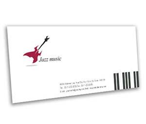 Envelope printing Jazz Band