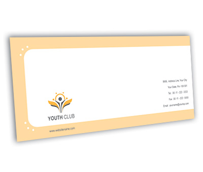 Online Envelope printing Youth Club