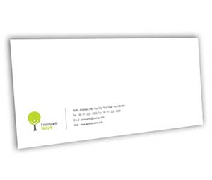 Envelope printing Gardening Consultant