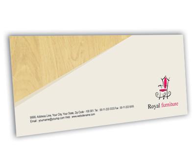 Online Envelope printing Furniture Showroom