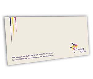 Envelope printing Dance School