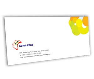 Envelope printing Game Zone