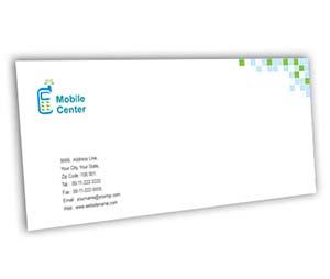 Envelope printing Mobile Handsets