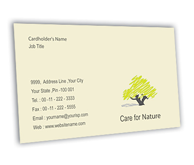 Online Business Card printing Tree Nursery