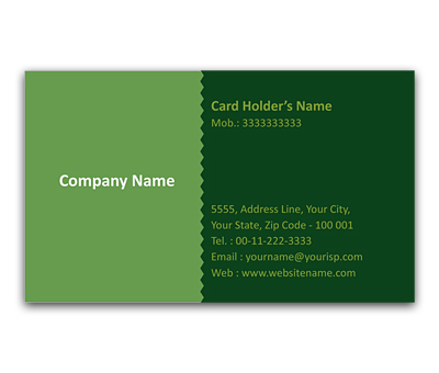 Online Flexi Business Card printing Fashioned Pattern