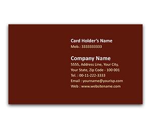 Flexi Business Card printing Abstract Lighting