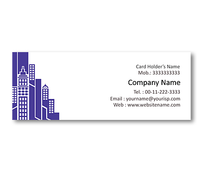 Online Mini Business Cards printing Building Constructions