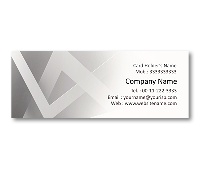 Online Mini Business Cards printing Interlinked Squares