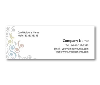 Online Mini Business Cards printing Floral Dress Shop