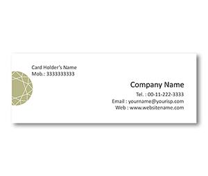 Mini Business Cards printing Diamond Shop
