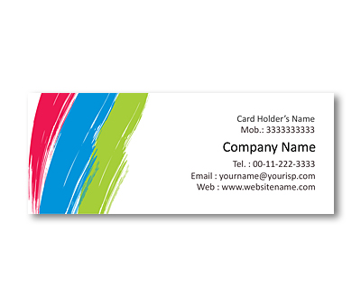 Online Mini Business Cards printing Paint Store