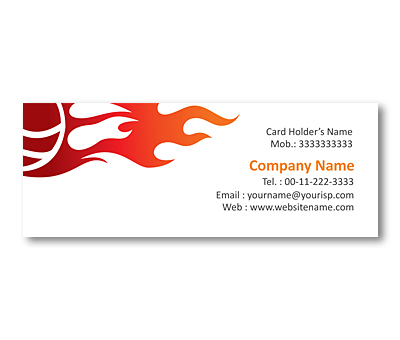 Online Mini Business Cards printing Sport Academy