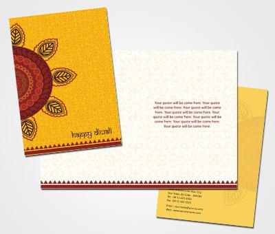 Online Greeting Card printing Happy Diwali Folks