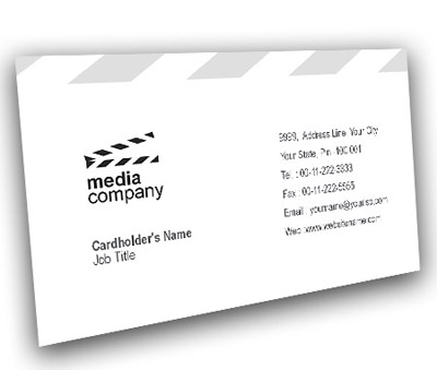 Online Business Card printing Film And Media