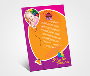 Invitations printing Son Birthday