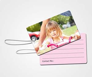 Luggage Tags printing Daughter Picture