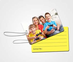 Luggage Tags printing Family Photo