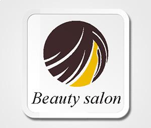 Coasters printing Beauty Salon