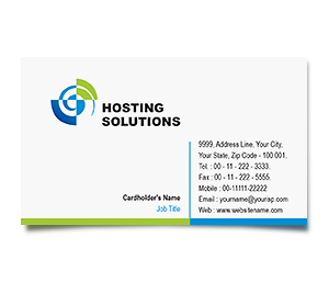 Business Card printing Hosting Packages