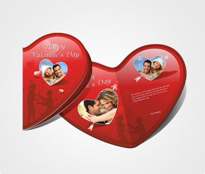 Online Greeting Card printing Online Valentines Day