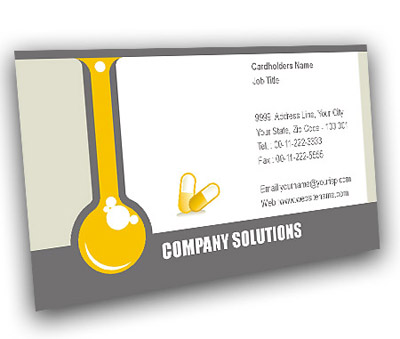 Online Business Card printing Pharmacy Technician