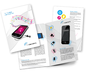 Brochure printing Mobile Shop
