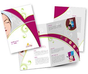 Brochure printing Beauty Salon