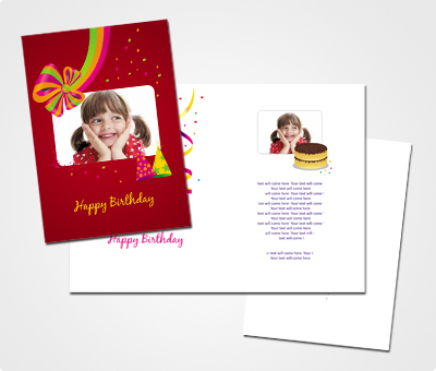 Online Greeting Card printing Daughters Birthday