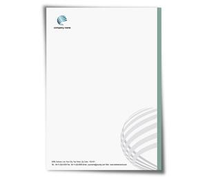 Letterhead printing Web Solutions