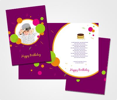 Online Greeting Card printing Happy Birthday