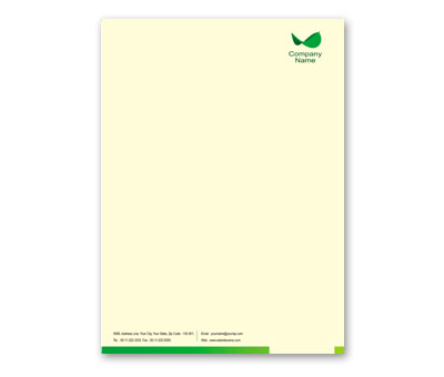 Online Letterhead printing Local Agriculture