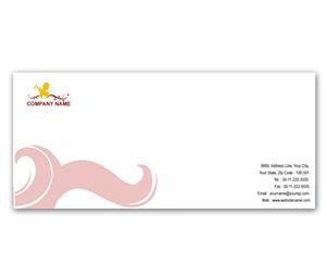 Envelope printing Beauty Shop