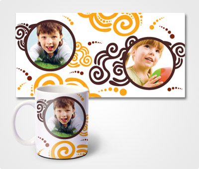 Online Mugs printing Rolls & Children Pics