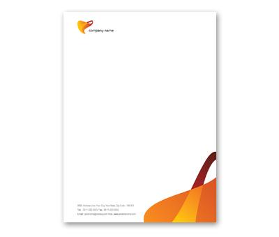 Online Letterhead printing Elastic Company