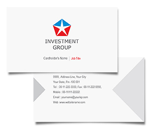 Business Card printing Investment Banks