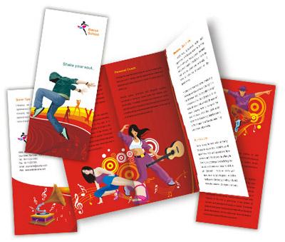 Brochure printing Dance Schools