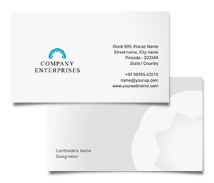 Business Card printing Exclusive Garments