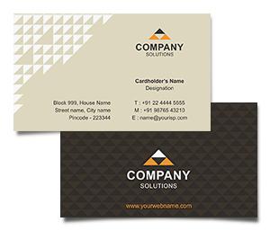 Business Card printing Interior Designing