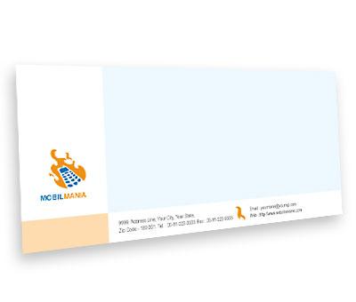 Online Envelope printing Mobile Communication Services