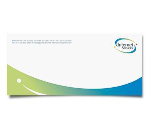 Envelope printing Satellite Internet Service