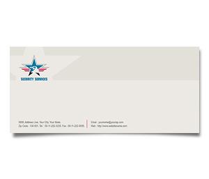 Envelope printing Security Service