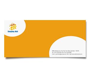 Envelope printing Shopping Mall