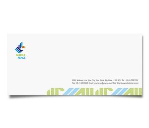 Envelope printing World Peace