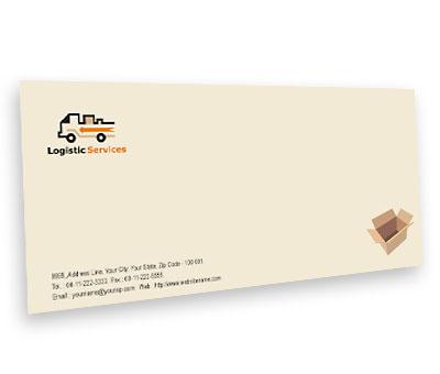 Online Envelope printing Transport Logistics