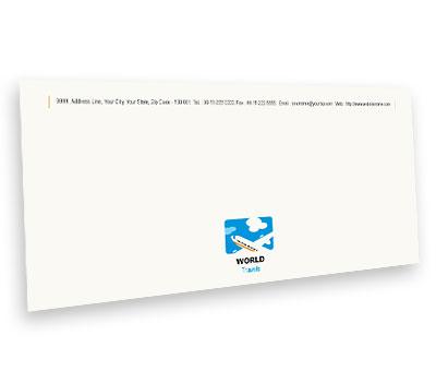 Online Envelope printing Air Travel Flights