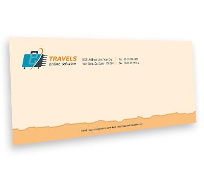 Online Envelope printing Online Travel Agents