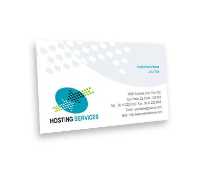Online Business Card printing Server Hosting Services