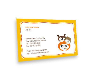 Online Business Card printing Kids Era